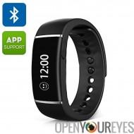 ORDRO S55 Smart bracelet - Bluetooth 4.0, appel/SMS rappel, rappel sédentaire, podomètre, sommeil gestion, IP67