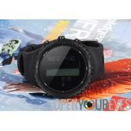 Sunroad FR801 Sports Watch - imperméable à l'eau, podomètre, compteur de calories, thermomètre, baromètre, altimètre, Digital C