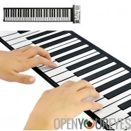 Flexible Roll Up Piano Clavier Synthétiseur avec touches programmables