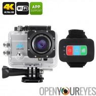 Q3H imperméable 4 caméra de sport K - CMOS de SONY, 16MP, Zoom 4 X numérique, 2 pouces à écran LCS, objectif grand Angle de 170
