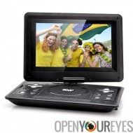10,1 pouces LCD Portable DVD Player - Gaming, la fonction de copie, 270 degrés pivotant Rotation, résolution 1024 x 768