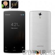 HOMTOM HT7 Pro Smartphone - 5,5 pouces écran HD, 4G, Dual SIM, Quad Core CPU, Bluetooth 4.0 (argent)