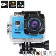 SJ9000 Wi-Fi caméra d'Action HD - Angle de 170 degrés 14 Mpx, écran LCD de 2 pouces, sortie HDMI (bleu)