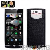 UHANS U100 Android 5.1 Smartphone - 4G, Dual SIM, écran de 4,7 pouces, 2 Go de RAM, MTK6735, Smart suite, Motion Control, détec