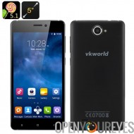 VKworld 700 x Android 5.1 Smartphone - écran de 5 pouces 1280 x 720, Quad Core CPU, Smart Mali 400MP Wake, Dual SIM, GPU (noir)