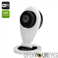 Eye Sight ES-IP840 IP Mini caméra - Wi-Fi, 720p, 1/4 de pouce CMOS, 0,8 Lux, Mic + haut-parleur, l'application téléphone, détec