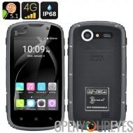 Ken Xin Da robuste Smartphone - IP68, 5.1 Android, écran tactile de 4 pouces, 4G, Shock Proof, Dual SIM (noir)