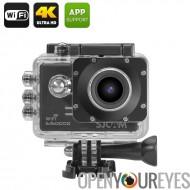 Objectif de 170 degrés enregistrement, WDR, SJCAM SJ5000X Elite Edition Action caméra - capteur gyroscopique, 4K, Wi-Fi, boucle