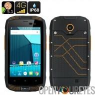 AGM A2 robuste Smartphone - écran de 4 pouces, IP68, Android 5.1, 4G, Bluetooth 4.0, 2Go de RAM + 16 Go de mémoire