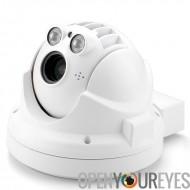 Extérieur étanche Mini caméra IP - 720p, Compression H.264, PTZ, 4 x Zoom optique, Vision nocturne, ONVIF Support, application
