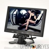 9 pouces TFT LCD moniteur - en voiture appuie-tête/Stand, Design ultra-mince, résolution 800 x 480
