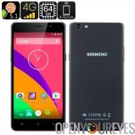 Longbow 5,5 pouces Smartphone - connectivité 4G, Siswoo C55 Octa 64 Bit CPU Core, 2Go de RAM, 13Мп Camera, IR Control, Smart Wa