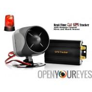 GPS Tracker de voitures et d'alarme de voiture avec suivi en temps réel