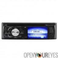 1 DIN 3 pouces TFT LCD voiture lecteur DVD - 180 Watt sortie, Bluetooth, Port USB, carte SD, entrée Aux