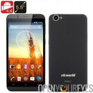 VKWORLD VK700 5,5 pouces Smartphone - Android 5.1, MTK6580 1,3 GHz Quad Core CPU, 1 Go de RAM, 13Мп arrière caméra, 3G, Dual SI
