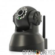 Sans fil caméra de sécurité IP «Leia» - 1/4 de pouce CMOS, Pan/Tilt, P2P visualisation à distance