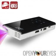 Projecteur DLP Android Mini de 120 lumen - Quad Processeur 1,4 GHz, 1 Go de RAM, Android 4.4, Wi-Fi, Airplay, Miracast, DLNA (b