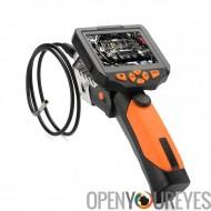 5,5 mm Endoscope caméra d'Inspection - 1 mètre de Long, capteur CMOS 1/3 pouce, vidéo 720p, écran de 3,5 pouces, DVR