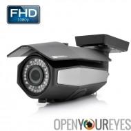 Extérieur étanche 1080p HD-SDI caméra - 2MP 1/2.8 pouces Sony CMOS capteur, IR-Cut, 40 mètre gamme de Vision nocturne, Zoom opt