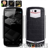 UHANS U200 5.1 Android Smartphone - 4G double SIM, quadri-Core CPU, 2 Go de RAM, écran 5 pouces, Smart suite, geste, télédétect