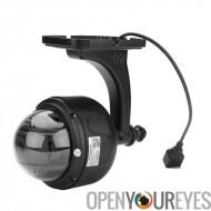 Caméra à dôme IP extérieure - PTZ 5 X Zoom optique, IP66, 1/4 de pouce CMOS, anti-IR, Vision nocturne, ONVIF 2.2