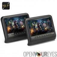 10,1 pouces moniteurs appui-tête de voiture + lecteur DVD - Region Free, jeu Controler, carte SD, tête prise téléphonique
