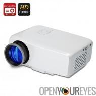 Projecteur Mini HDMI - 800 lumens, 4:3 / 16:9, durée de vie 20 000 heures, 1,07 milliards de couleurs