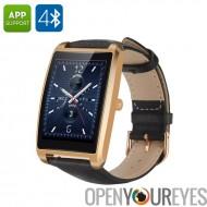 Zeblaze Cosmo Bluetooth Smart Watch - IP65, imperméable à l'eau, Android et iOS, moniteur de fréquence cardiaque, podomètre (or