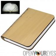 Pliage créatif livre lumière & nouveauté lampe - 2500mAh batterie, 500 Lumens, jusqu'à 6 heures d'utilisation, éco