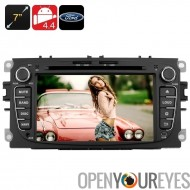 7 inch Touchscreen Ford Car DVD Player - support Bluetooth, 2DIN, 4.4 Android, Quad Core CPU, GPS, 3G, Wi-Fi