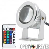10W Outdoor LED Flood Light - changement de couleur de RVB, télécommande, IP66 étanche Rating