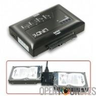 ESATA & USB 2.0 Adapter avec la fonction de clonage pour disque dur SATA