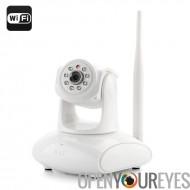 EasyN 147W Plug + Play caméra IP - 2 mégapixels CMOS de 1/4 de pouce, H.264, 3 x Zoom numérique, Wi-Fi, carte Micro SD, Vision