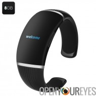 Enregistreur numérique Bracelet - MP3, 8 Go, écran OLED, jouer à One-key + enregistrement
