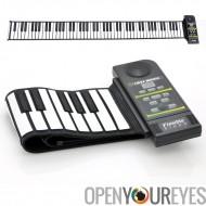 Rouler souple clavier de synthétiseur Piano - 88 touches, haut parleur