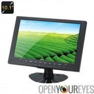 10,1 pouces IPS TFT écran LCD - résolution Native de 1280 x 800, HDMI, VGA, vidéo, USB, Mont sabot, 350CD/M2