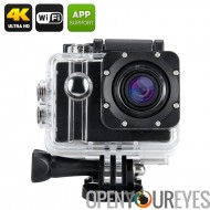 ELE Explorer Pro 4K Action Camera - Voice Broadcast, Wi-Fi, objectif grand Angle de 170 degrés, SONY capteur 12MP, Zoom 5 X (no