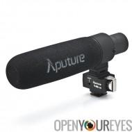 Aputure V-Mic D2 Shotgun condensateur micro - pare-vent, vent bouclier, câble vidéo, câble Audio