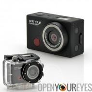 WiFi caméra de sport « SportsCam » - avec télécommande, Full HD 1080p, capteur de 5 mégapixels CMOS, imperméable à l'eau