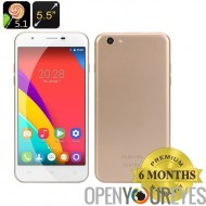 OUKITEL U7 Pro Smartphone - écran de 5.5 pouces D 2,5 IPS, Quad Core CPU, 5.1 Android, Dual SIM, HotKnot (or)