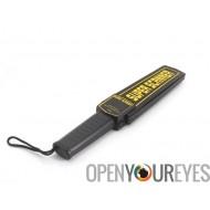 Détecteur de métaux sécurité - Audio + Vibration avertissement, étui