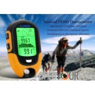 Sunroad FR500 multifonction Outdoor Altimètre - Baromètre, boussole, thermomètre, hygromètre, lampe torche LED, IPX4