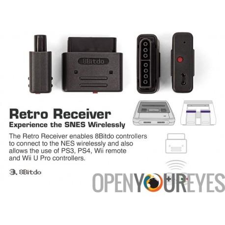 8Bitdo Retro Receiver Gamepad Controller for SNES/SFC