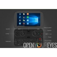 GPD WIN Portable Console Windows 10 System Pocket RetroGaming Qwerty Tablet - Mini Laptop - NEW Aluminum Ver. + Official Bag
