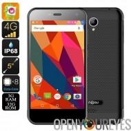 HK entrepôt Nomu S20 Smartphone - IP68, Quad Core CPU, RAM 3 Go, 4G, Android 6.0, 5 pouces (gris)