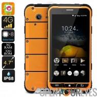 HK entrepôt précommande Ulefone Armor Smartphone - IP68, verre Gorilla 3, Android 6.0, Octa-Core CPU, 3 Go de RAM, Cam 13Мп (Or
