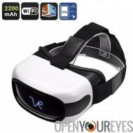Lunettes 3D Android VR - 5 pouces écran HD, Support de la 3D, Quad-Core CPU, WiFi, 32 Go de mémoire externe, Google Play, OTG,