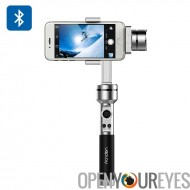Aibird Uoplay stabilisateur de caméra de poche - 3 axes, Smartphones + GoPro Hero 3/3 + / 4 (argent)