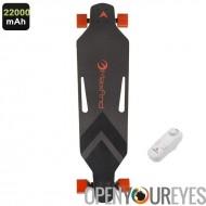 Maxfind électronique Skateboard - télécommande sans fil, moteur de 360W, jusqu'à 28 KM/h, charge maxi 100 KG, batterie poids lé