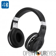 Bluedio H + Bluetooth casque - Bluetooth 4.1, 16 ohms, construire en A2DP, AVRCP, HSP, HFP, batterie, Micros SD, Radio FM